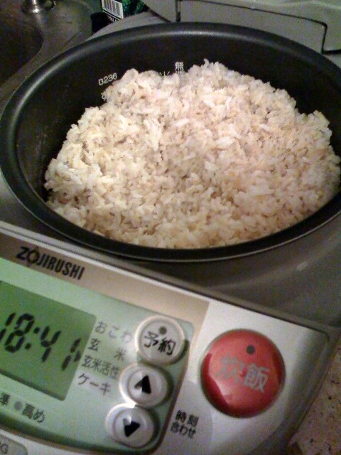 how to cook sprouted brown rice in rice cooker