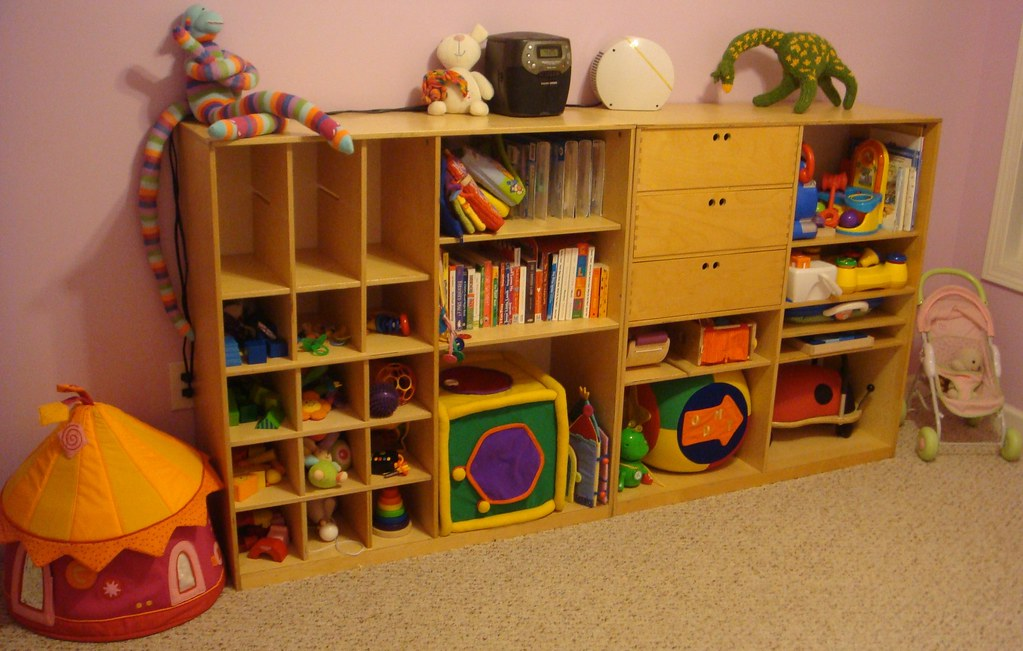 No Toy Storage In Living Room