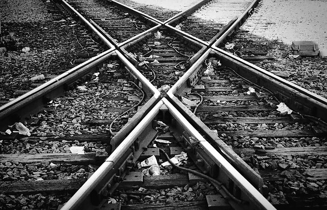 Intersect Train Tracks And Film Just Seem To Go Together