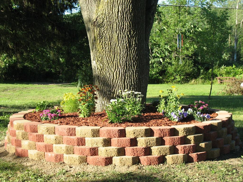 Flower beds around trees - 25 Best Landscaping Around Trees Ideas On Pinterest