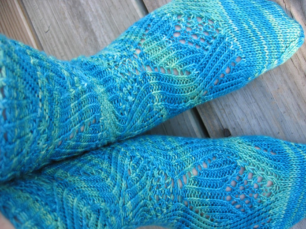 Knitting Like Crazy Blog: Mingus Socks