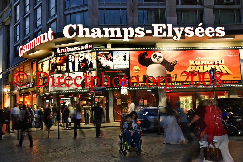 Movie Theater in Paris Paris France Cinema Theaters