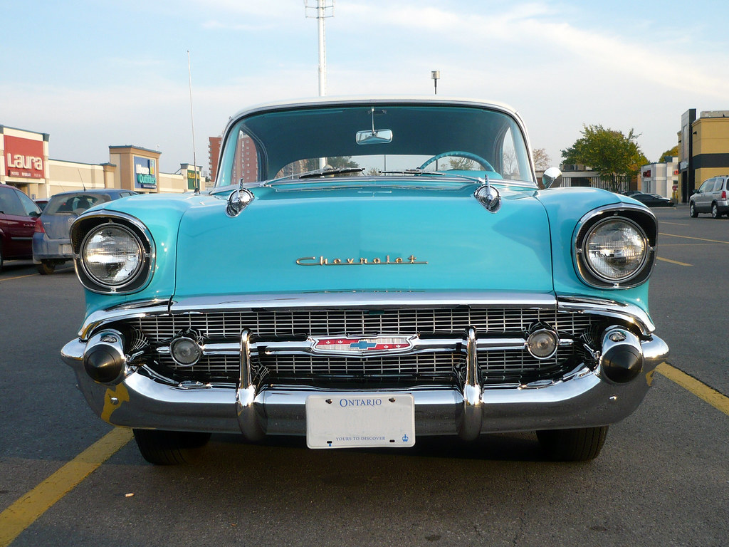 The Quot Face Quot Of A 57 Chevy Bel Air 4 Door Sedan I
