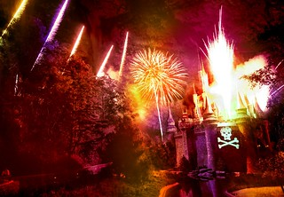 The Fireworks Explosion at Disney During the Pirates and Princesses Party! | by Stuck in Customs