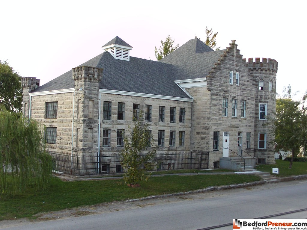 The Old Jail Bedford Indiana This Where The Jail Use