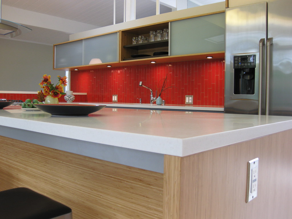 Bamboo Kitchen Tile Backsplash