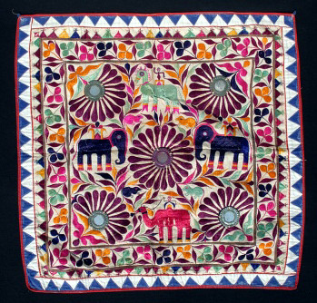 Antique Embroidery India  Antique Hand Embroidered Folk