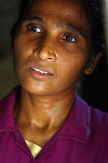 Nandawathie Ranaweeera in her home | by World Bank Photo Collection