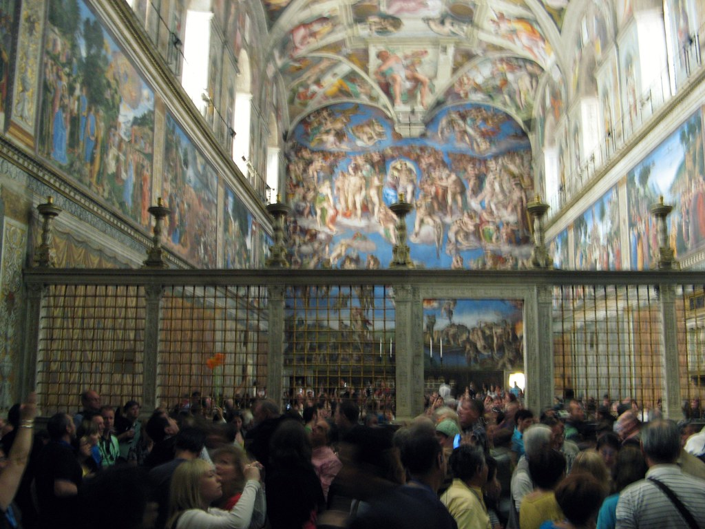 The Sistine Chapel Is The Most Crowded Spot On Earth Mic