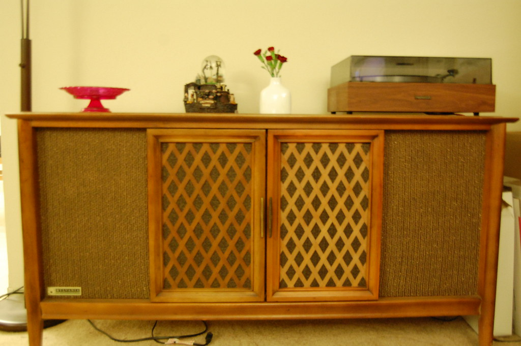 1950 S Stereo Cabinet We Picked Up This Awesome 1950 S
