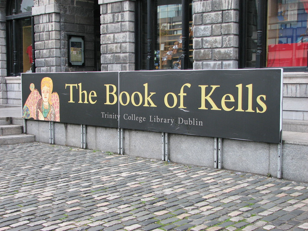 The Book of Kells, Trinity College Dublin   Banner for the ...