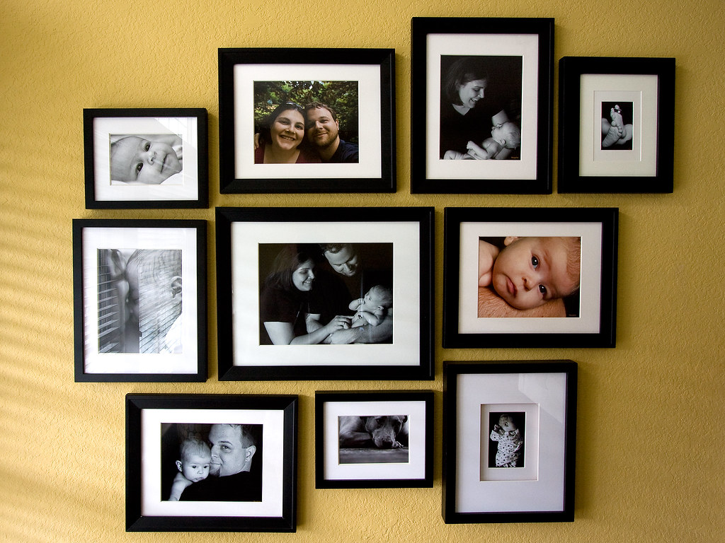 Photo Wall This Weekend S Project A Mix Of Personal And