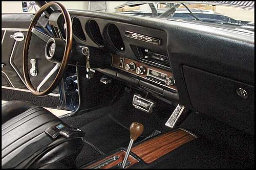 1969 Pontiac Gto Interior Dash View 400 350 Hp