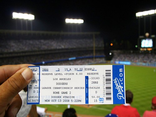 Dodger Stadium October 2008 | by jondoeforty1