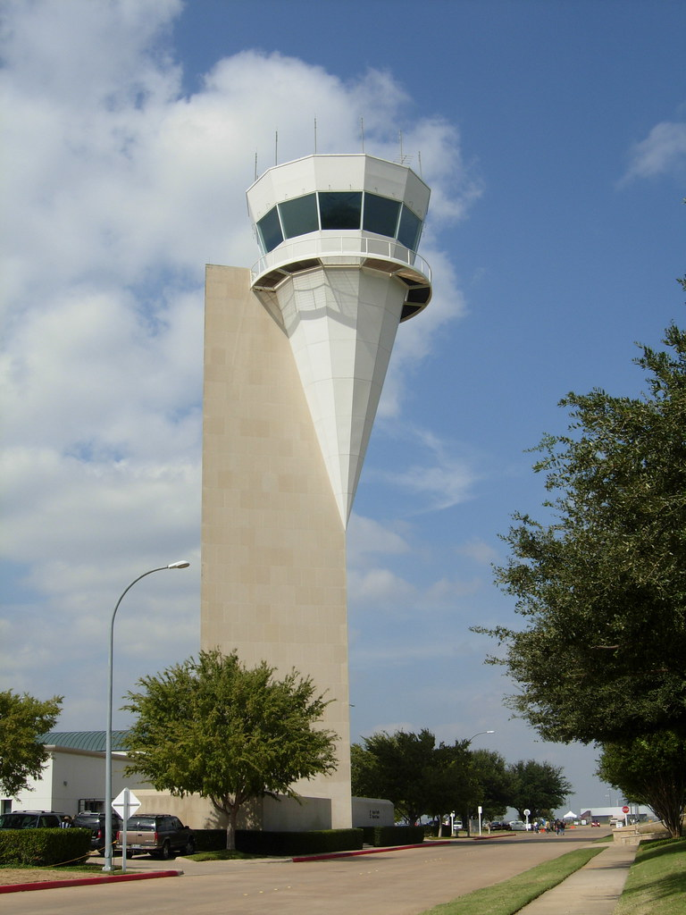 Control Tower A View Of The Fort Worth Alliance Airport