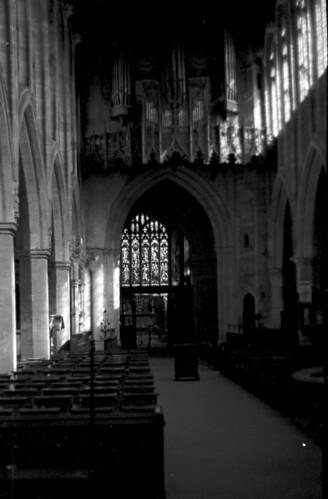 1705 Interior Shakespears church