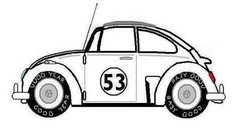Herbie My Side Shot Drawing Phill Flickr