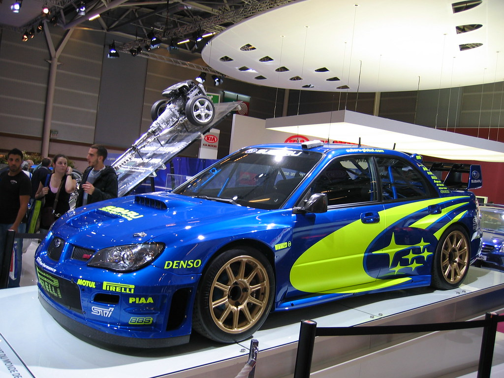 Subaru Wrx Sti Rally Car Subaru Wrx Sti Rally Car At The