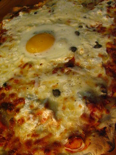 Pizza Romana w/ Egg | by SeppySills