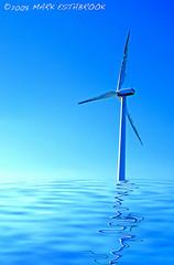 Wind Turbine 0035 by Mark Estabrook