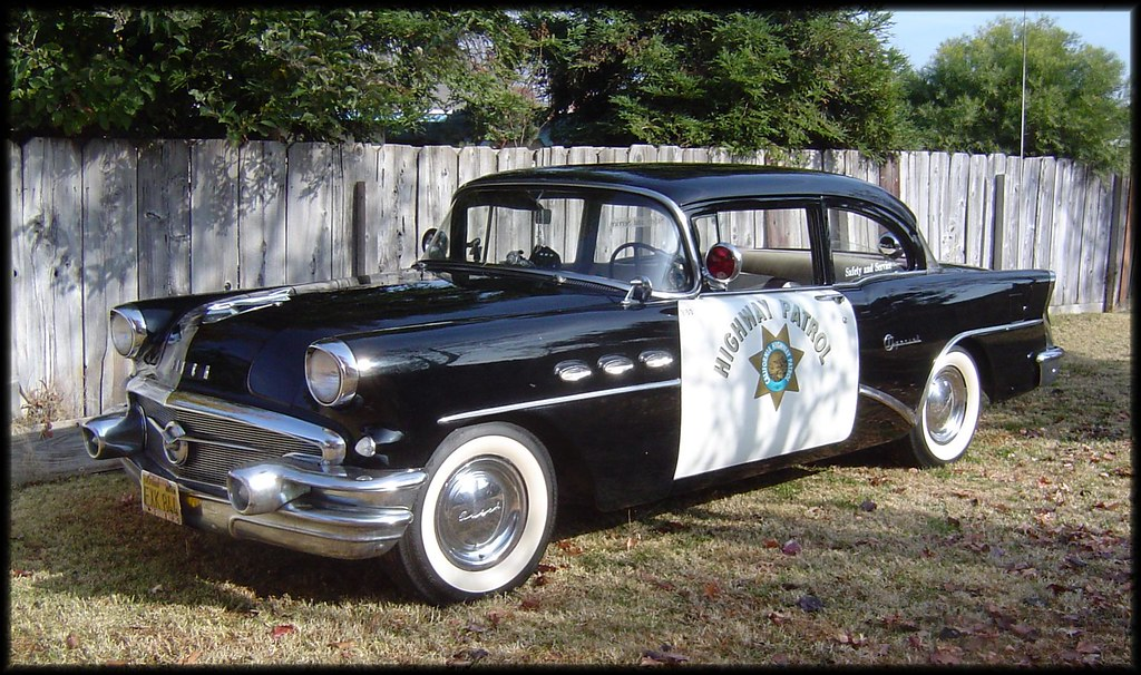 Old Buick Police Cars