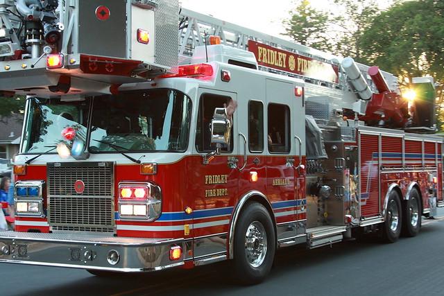 Fridley Fire Department Ladder Truck Flickr Photo Sharing