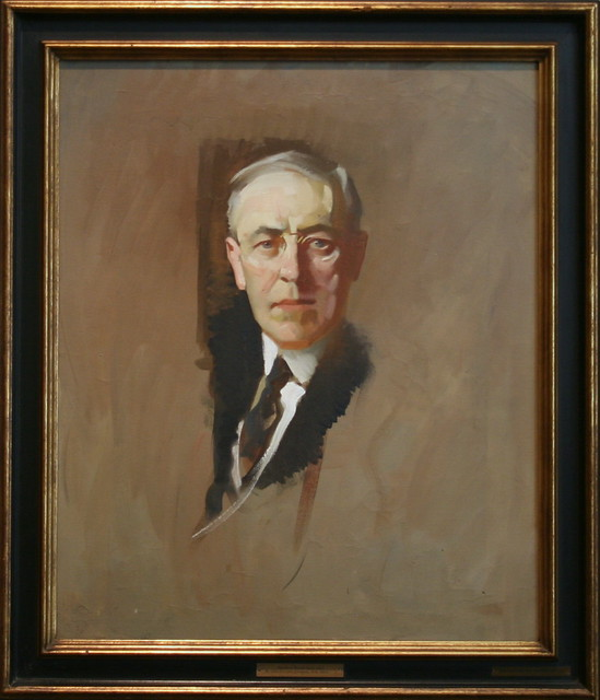 why is woodrow wilson considered the father of public administration