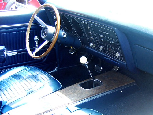 1969 trans am interior