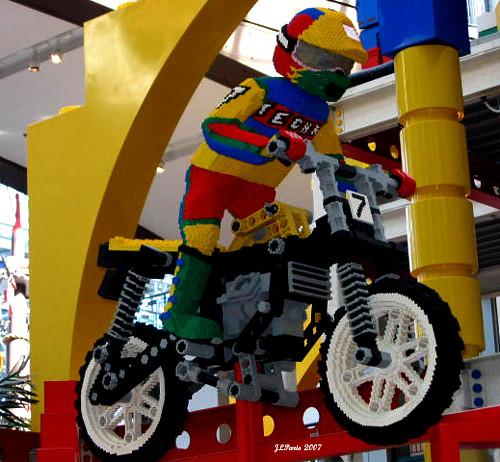 Minnesota Mall Of America Lego Exhibit View On Black