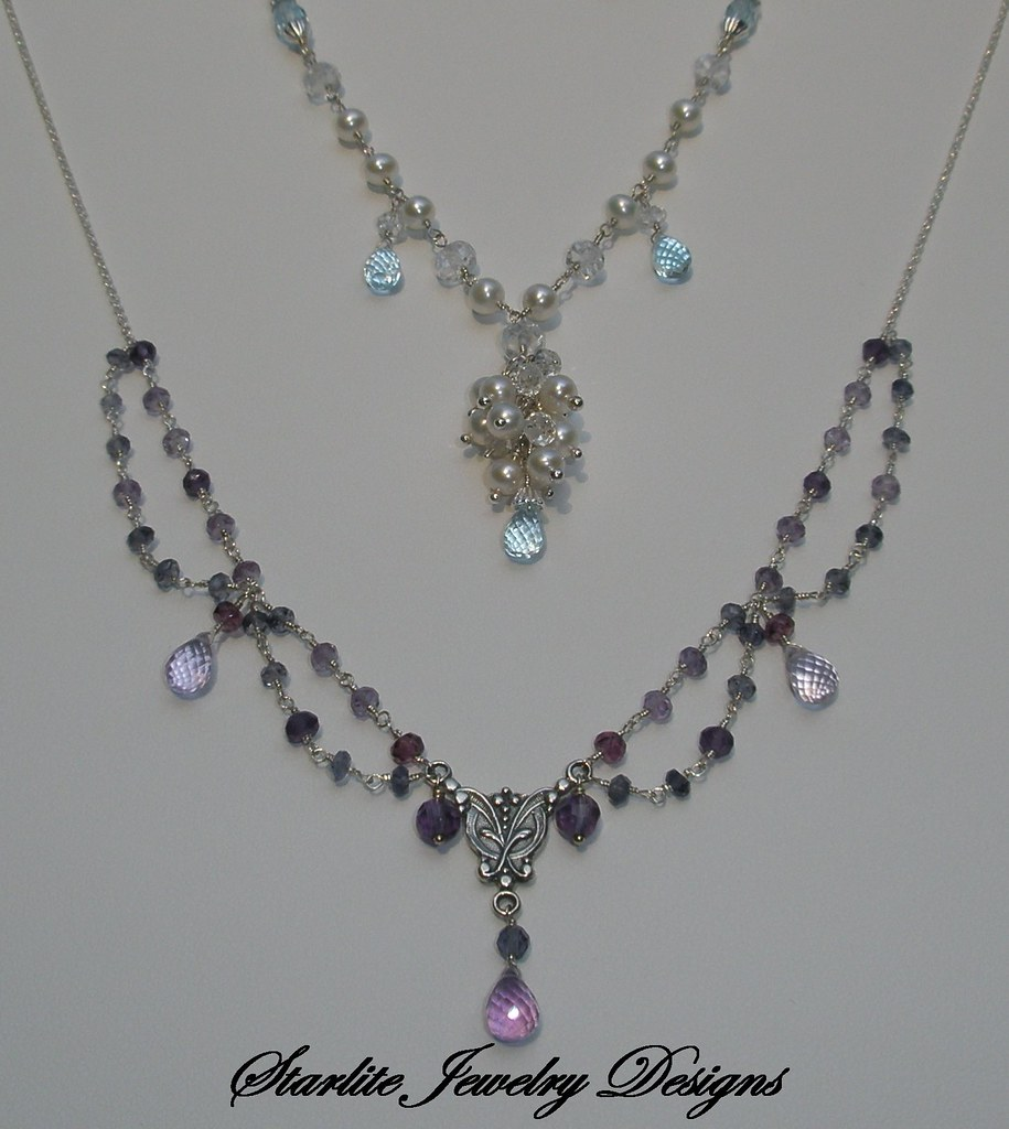 Starlite jewelry designs briolette jewelry design cust for San francisco handmade jewelry