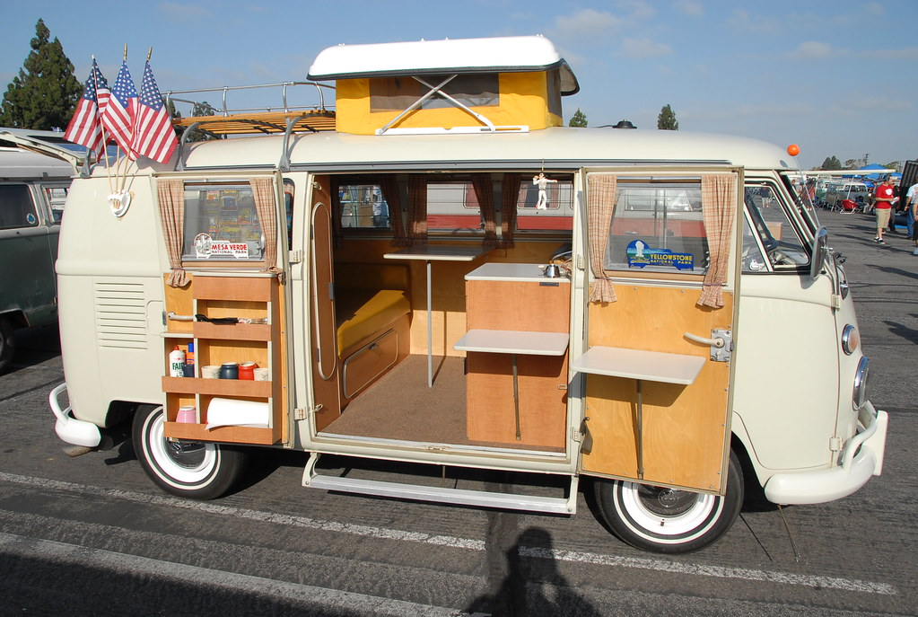 Vw Volkswagen Split Bus Camper Andrew Frood Flickr