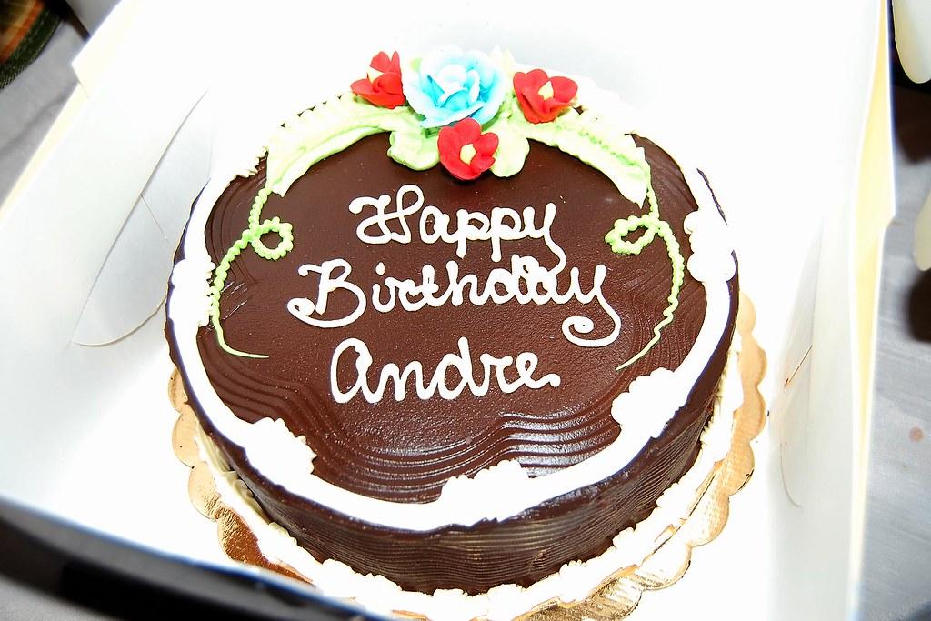 Camera Birthday Cake With Name