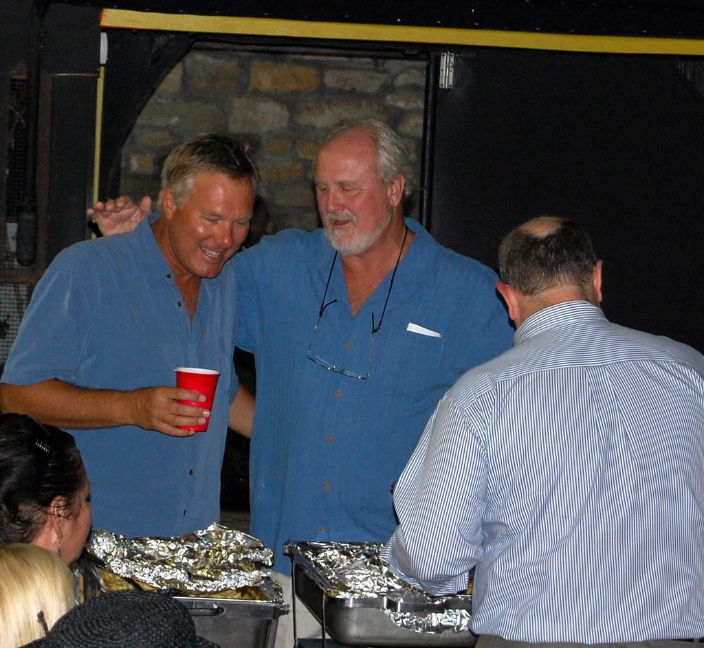 Former St Augustine, FL Mayor Len Weeks and Mayor Joe Bole ...