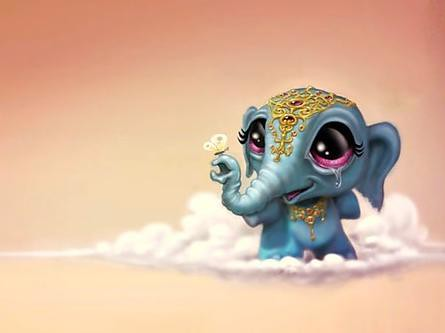 baby elephant wallpapers hd