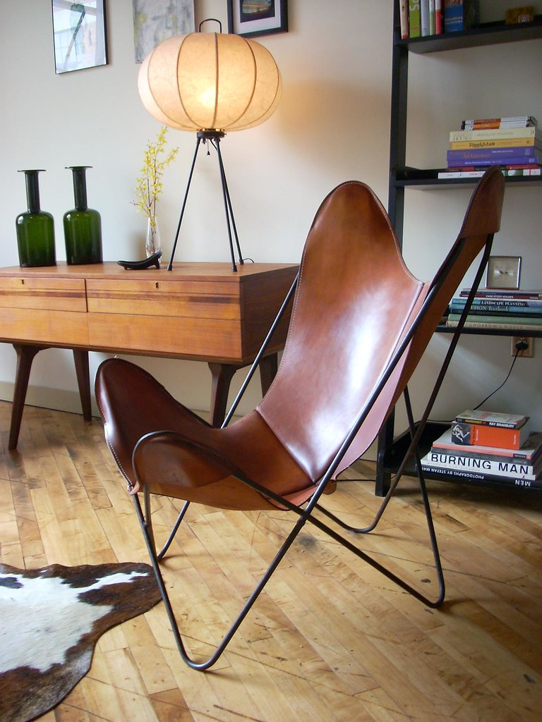 hardoy chair our new all original 1950s butterfly chair flickr. Black Bedroom Furniture Sets. Home Design Ideas