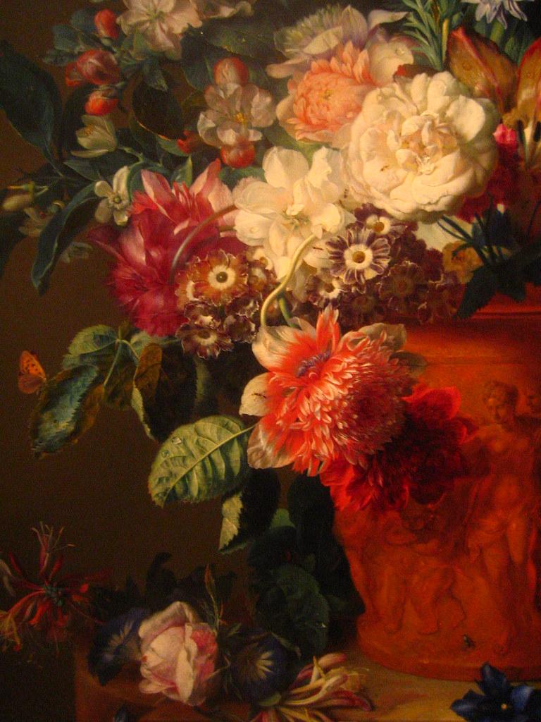 Vase Of Flowers Jan Van Huysum Vase Of Flowers 1722