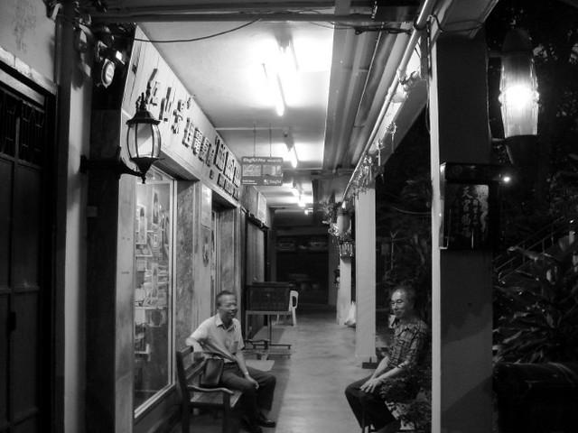 Men Talking Outside Hair Salon The Corridor Outside A Hair Flickr