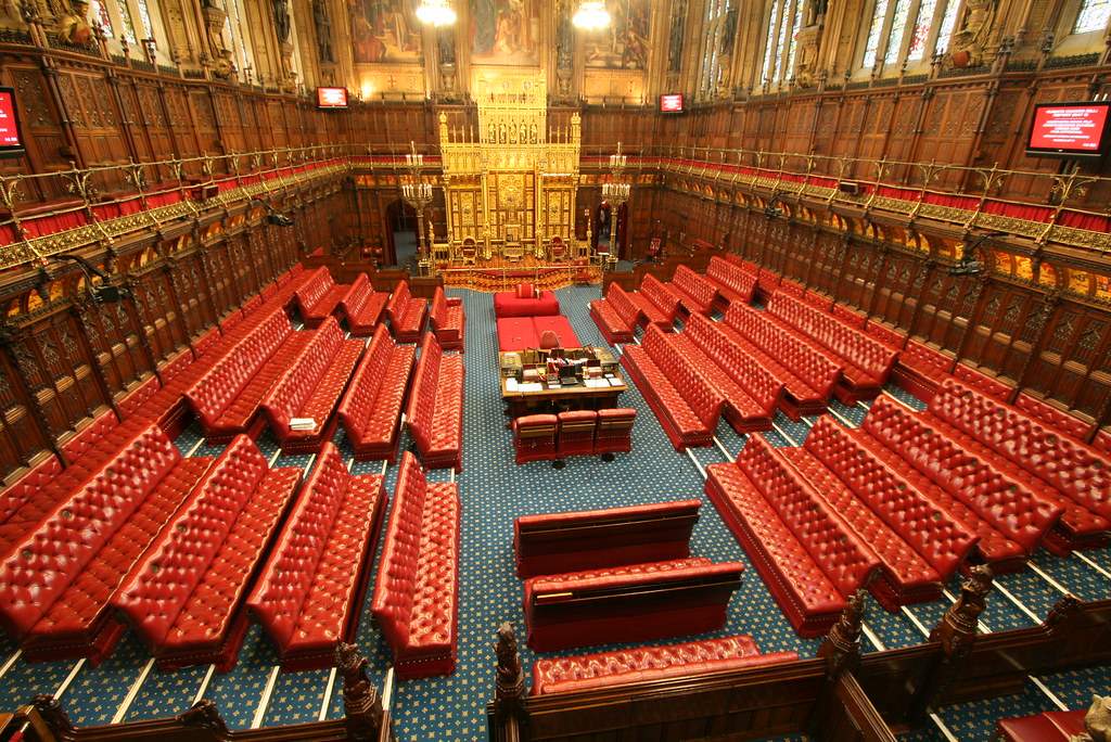 House Of Lords Building History