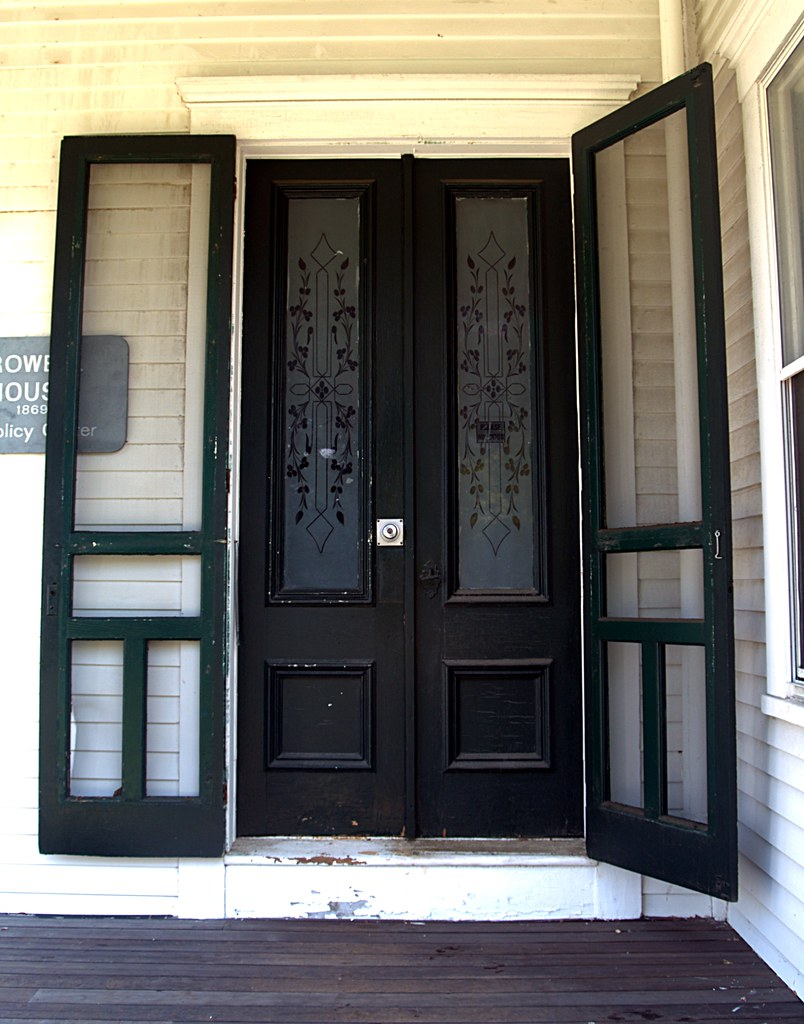 Crowell house front door woods hole ma for a full for Full view exterior door