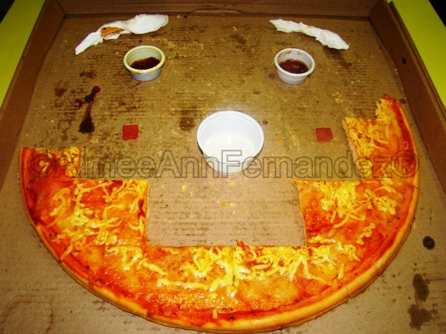 monster pizza smiley face from me to citi au wave 1 6. Black Bedroom Furniture Sets. Home Design Ideas