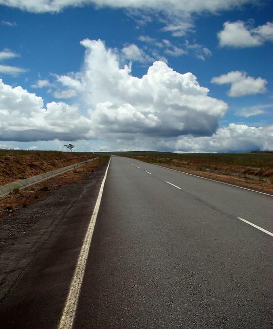 Carretera en la Gran Sabana