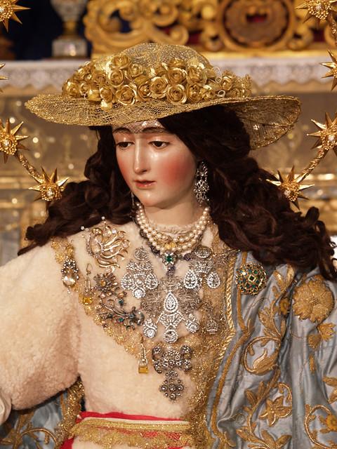 Resultado de imagen de Divina Pastora de Santa Marina. Sevilla