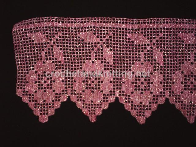 Crocheted Lace Edging 2 Turkish Lace Pattern Crochet Knitting