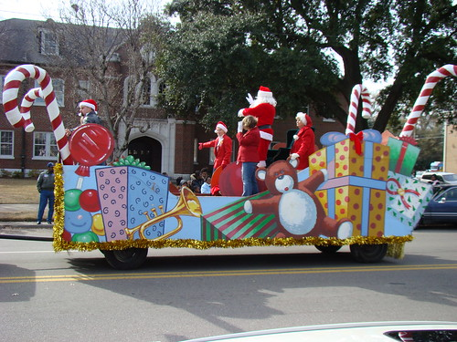 Delta Christmas Parade Float | by jwinfred