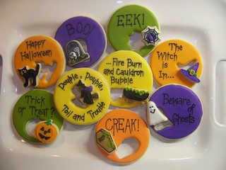 Halloween Cookie Cutouts and Sayings | by Polka-dot Zebra