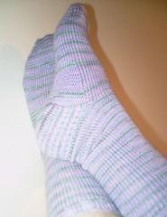 pink and green ebay socks2