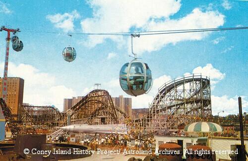 back to the future  coney island u0026 39 s astroland skyride