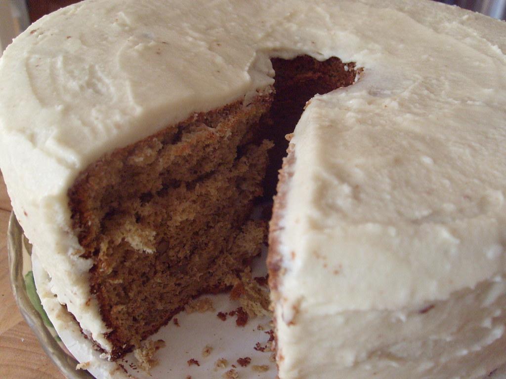 Coffee Cake Made With Vanilla Yogurt