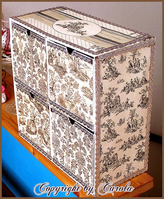 toile cardboard drawers ikea cardboard drawers altered