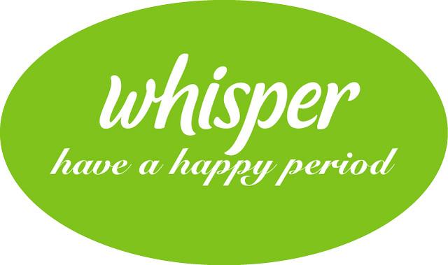 whisper logo with tagline nicole tan flickr
